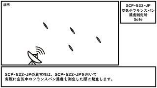 【ゆっくり紹介】SCP-522-JP【空気中フランスパン濃度測定所】
