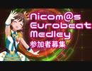 企画告知Nicom@sEurobeatMedley合作参加者募集のお知らせ