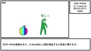 【ゆっくり紹介】SCP-4546【だってあなたは花火なんだから】