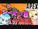 【Apex】シーズン8一分解説!!!【ゆっくり実況】