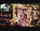 【睡眠用】=雨の音= 眠れる東方ピアノ30曲繋げました 【環境音+生演奏】