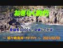【城ケ崎海岸・カドカケ】 おきらく釣行 【20210203】