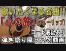 【コード有】チューリップ「心の旅」サビだけ弾き語り風 covered by hiro'【演奏動画】