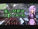 きんかつ!京都嵐山・琵琶湖上書きされた秋【V-STROM1050XT】