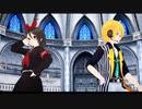 【MMD】フラジール/鏡音リン・鏡音レン(アストレイ・ホーリィランサー) fragile/Kagamine Rin・Kagamine Len(Astray・Holy Lancer)