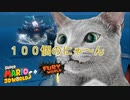 【スーパーマリオ3Dワールド+フューリーワールド】100個ネコシャインを集めたので、最強クッパを闘ってみたww
