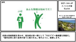 【ゆっくり紹介】SCP-144-JP【イノシシの宿】