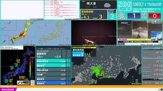 【緊急地震速報(予報)】愛知県西部 最大震度3