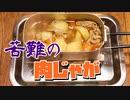 ダイソーメスティンで苦難の肉じゃが 自動炊飯 自炊料理