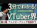 【2/14~2/20】3分でわかる!今週のVTuber界【佐藤ホームズの調査レポート】