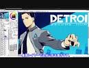 【DETROIT】デトロイトのアンドロイド刑事を描いてみた【コナー】
