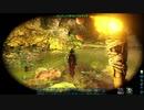 【ARK: Survival Evolved】ヒルに囲まれる大人気なサバイバー|免疫の洞窟