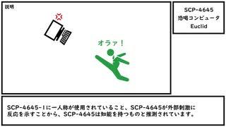 【ゆっくり紹介】SCP-4645【恐喝コンピュータ】