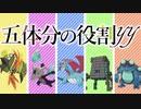 【ポケモン剣盾】五体分の役割yy【役割論理】【ゆっくり実況】