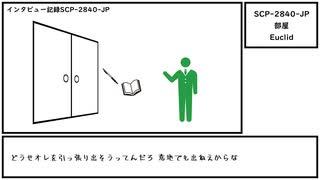 【ゆっくり紹介】SCP-2840-JP【部屋】