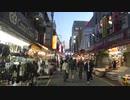 アメ横、上野ぶらり散歩旅。夕暮れ時【旅動画】