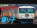 【定期運用消滅】関東最後の国鉄特急 185系に乗車!【巡り尽くしの旅(関東編)】