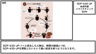 【ゆっくり紹介】SCP-435-JP【血液代替トマトケチャップ】