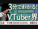 【3/7~3/13】3分でわかる!今週のVTuber界【佐藤ホームズの調査レポート】