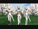 【MMD花フェスタ2021】クレイモアで「桜ノ雨」