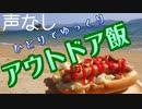 【声無し】ひとりでゆっくりアウトドア飯~浜辺でホットドッグ~