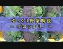ゆっくり野菜解説 part4 ブロッコリー
