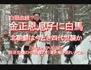 【みちのく壁新聞】2020/03-白頭血統?金正恩,息子に白馬、北朝鮮は今どき四代世襲か、…白馬のパクり伝説で、肺炎危機の中,苦難の行軍を乗り切れってか