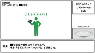 【ゆっくり紹介】SCP-692-JP【UFO for you】