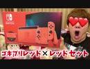 ニンテンGAースEッチ マリオレッドTube×ブルーセット開封!