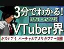 【3/21~3/27】3分でわかる!今週のVTuber界【佐藤ホームズの調査レポート】