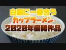 白飯に一番合うカップラーメン2020年優勝作品