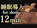 睡眠導入マッサージ もみほぐしで眠くなる12分