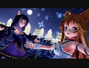 【MMD】エノコログサちゃん&キャルちゃんで『海を泳ぐ月』