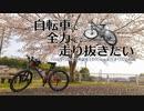 自転車で全力で走り抜きたい『つくばりんりんロードで桜を』