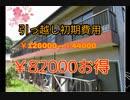 ¥82000得した話(引っ越し)