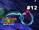 【スーパーマリオ64】マンタだって噴き出してるじゃんねえ!【実況プレイ】#12