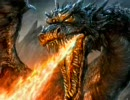 ドラゴン描いてみた。
