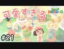 はじめての無人島生活【 あつまれどうぶつの森 】#21