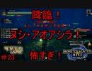 【実況】MHR#23 ヌシ怖すぎ!