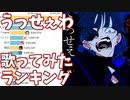 うっせぇわ - 歌ってみた 再生回数ランキングの推移 20年11月-21年4月【Ado】
