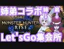 【Vtuberゲーム配信】モンスターハンターライズリアルガチ姉弟コラボ!!Part7【YoutubeLive録画】