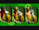 『トッペマの唄(映画クレヨンしんちゃん ヘンダーランドの大冒険より)』をコントラバスアンサンブルで弾いてみた
