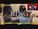 KING  バイオリンで弾いてみた 【コロにゃん】