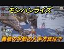 モンハンライズ 轟竜の甲殻の入手方法は? #252【MHR】