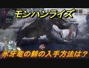 モンハンライズ 氷牙竜の棘の入手方法は? #254【MHR】