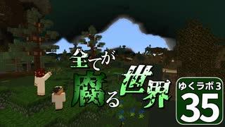 【Minecraft】ゆくラボ3~魔法世界でリケジョ無双~ Part.35【ゆっくり実況】