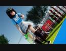 【MMD】文ちゃんがテニスウェアに着替えたら 【Ray-MMD1.52 ぱんつ注意】