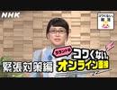 [就活応援] 面接本番で緊張を和らげるNHKアナウンサーのマル秘テクニック   ラランドのコワくない。オンライン面接   コワくない。就活   NHK