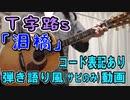 【コード有】T字路s「泪橋」 サビだけ弾き語り風 covered by hiro'【演奏動画】
