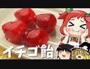 【ゆっくり料理】いちご飴